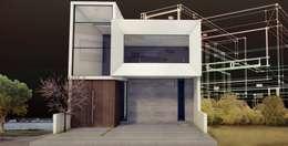 CIMA : Casas de estilo moderno por PESA ARQUITECTOS