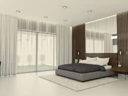 sons bedroom 1: modern Bedroom by URBAIN DEZIN STUDIO