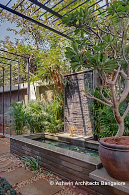 Garden Design: modern Garden by M/S Ashwin Architects