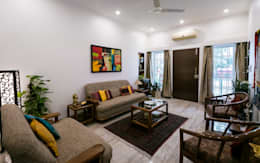 Home Renovation: modern Living room by Rennovate Home Solutions pvt ltd