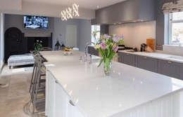 REMODELLED KITCHEN: modern Kitchen by NO4 DESIGN STUDIO