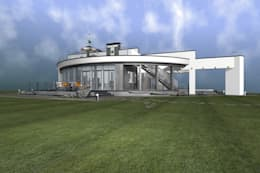 Спа Павильон : Спа в . Автор – архитектурная мастерская МАРТ
