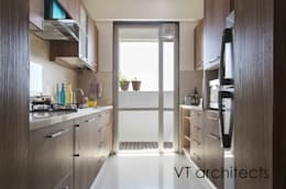 Lodha Project: modern Kitchen by VT architects