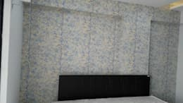 Mr. Udaybhan Singh Thakur Retirement Home: minimalistic Bedroom by al-Haadi Interiors