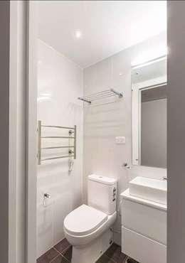度假鋼構屋:  衛浴 by 好適屋 House Box