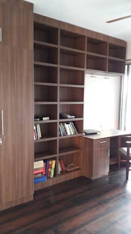 Ghatkopar residence: modern Study/office by Rennovate Home Solutions pvt ltd