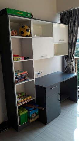 Ghatkopar residence: modern Nursery/kid's room by Rennovate Home Solutions pvt ltd