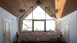 Загородный дом в посёлке Солнечный : Детские комнаты в . Автор – Архитектурная студия Чадо