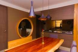 Casa CB: Comedores de estilo moderno por Structure Diseño & Arquitectura