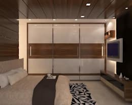 : modern Bedroom by classicspaceinterior