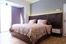 RUMAH PALEM INDAH MANSION: modern Bedroom by FIANO INTERIOR