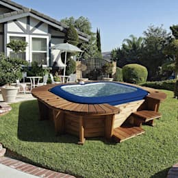 Spa hinchable K20 Lay-Z-Spa Malibu: Spa de estilo moderno de Kovyx Outdoor