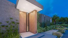 casa de campo pereira : Casas campestres de estilo  por astratto