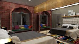 Project 10: modern Bedroom by Rhythm  And Emphasis Design Studio