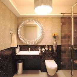 bathroom: modern Bathroom by Rhythm  And Emphasis Design Studio