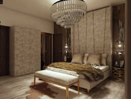bedroom: modern Bedroom by Rhythm  And Emphasis Design Studio