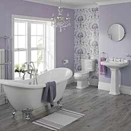 Milano Traditional Freestanding Bath Suite: classic Bathroom by BigBathroomShop