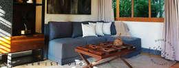 HOTEL BOUTIQUE VALLE DE BRAVO: Salas de estilo  por Taller Estudio P