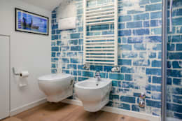 Baños de estilo moderno por Annalisa Carli