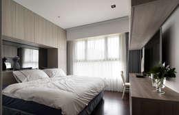 Habitaciones de estilo moderno por 昕益有限公司