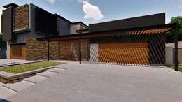 House Rasebotsa:   by Blunt Architects