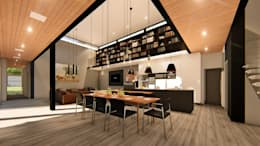 Dining:   by Blunt Architects