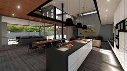 Kitchen:   by Blunt Architects