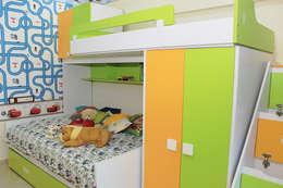 4 BHK Apartment of Mr Sachin Tulsyan Kolkata: modern Bedroom by Cee Bee Design Studio