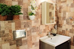 4 BHK Apartment of Mr Sachin Tulsyan Kolkata: modern Bathroom by Cee Bee Design Studio