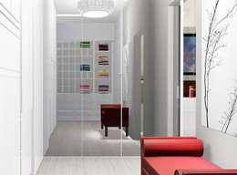 Phòng thay đồ by Trivisio Consultoria e Projetos em 3D