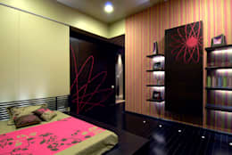 Residential Interior: modern Bedroom by Jeearch Associate