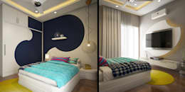 Home Furnishing in Kerala: asian Bedroom by Monnaie Architects