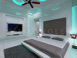 Kids Room: minimalistic Bedroom by TRIANGLE HOMEZ