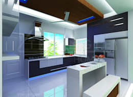 White Kitchen:   by TRIANGLE HOMEZ