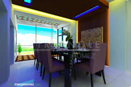 Dining Area:   by TRIANGLE HOMEZ