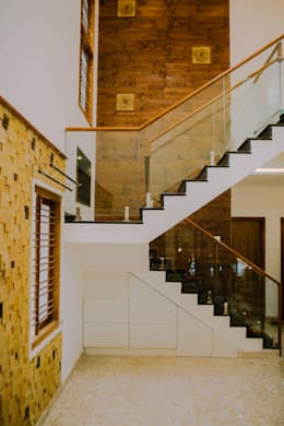 Stairs:  Stairs by Geometrixs Architects & Engineers