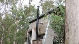 Casa A&P - Vista 1: Casas unifamiliares de estilo  por Módulo 3 arquitectura
