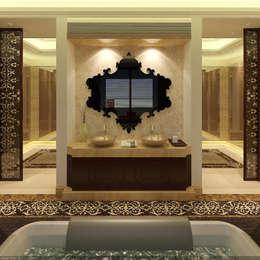 SEA BREEZE: modern Bathroom by smstudio
