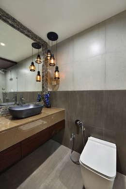 DAHANU- VIJAY GHODAWAT: modern Bathroom by smstudio