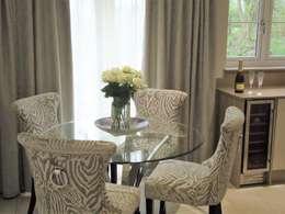 Kitchen/diner: modern Dining room by Ruth Turner Interior Design Ltd