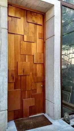 PUERTA DE ACCESO PRINCIPAL : Puertas de entrada de estilo  por arquiroots