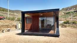 CASA MA: Casas de estilo moderno por arquiroots