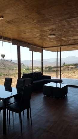 LIVING- COMEDOR: Livings de estilo moderno por arquiroots