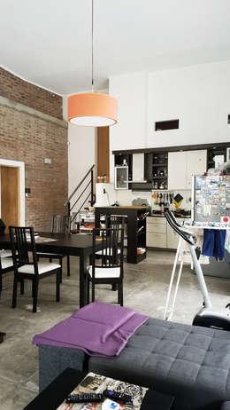 Casa A&P: Comedores de estilo moderno por Módulo 3 arquitectura