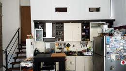 Casa A&P: Cocinas de estilo moderno por Módulo 3 arquitectura