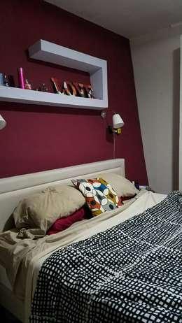 Casa A&P: Dormitorios de estilo moderno por Módulo 3 arquitectura