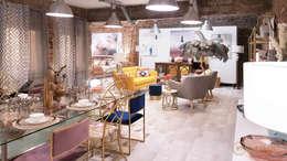 Proyecto THE LOFT: Salones de estilo moderno de Muebles Marieta