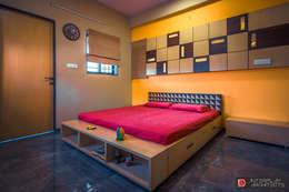 VERTICAL EXTENSION - Best Interior Designer in Surat:   by DINTERPLAY ARCHITECTS