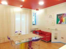 Appartamento 1: Sala da pranzo in stile in stile Moderno di Studio di Architettura e Design Giovanni Scopece
