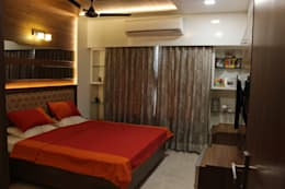 Tamhane Residence Interiors: modern Bedroom by Vangikar Architects